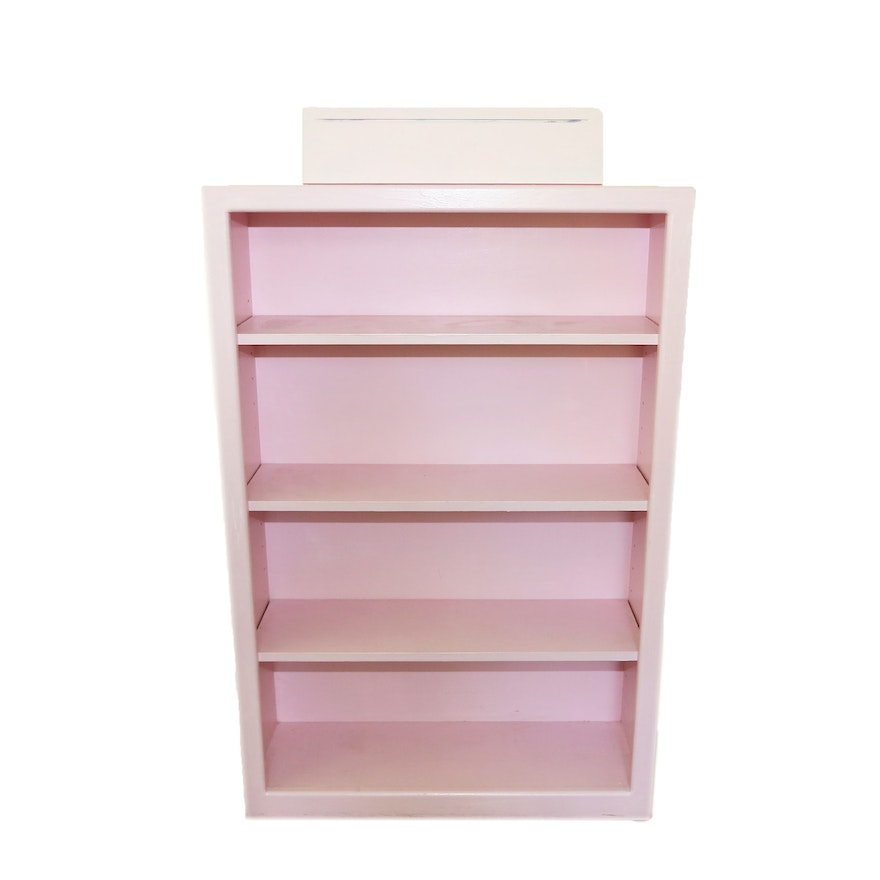 Painted Wooden Bookcase EBTH