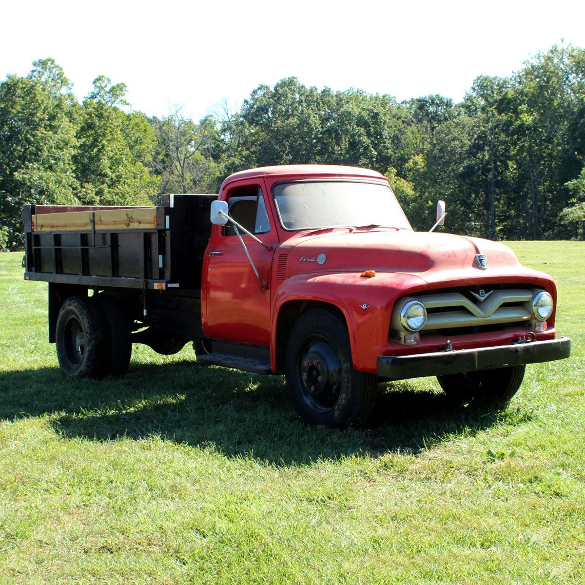1955 Ford F600 Dump Truck