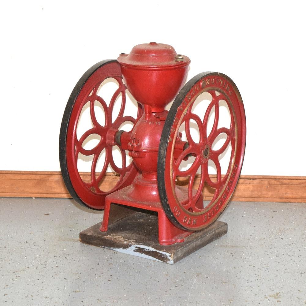 Vintage Enterprise Double Wheel Coffee Grinder