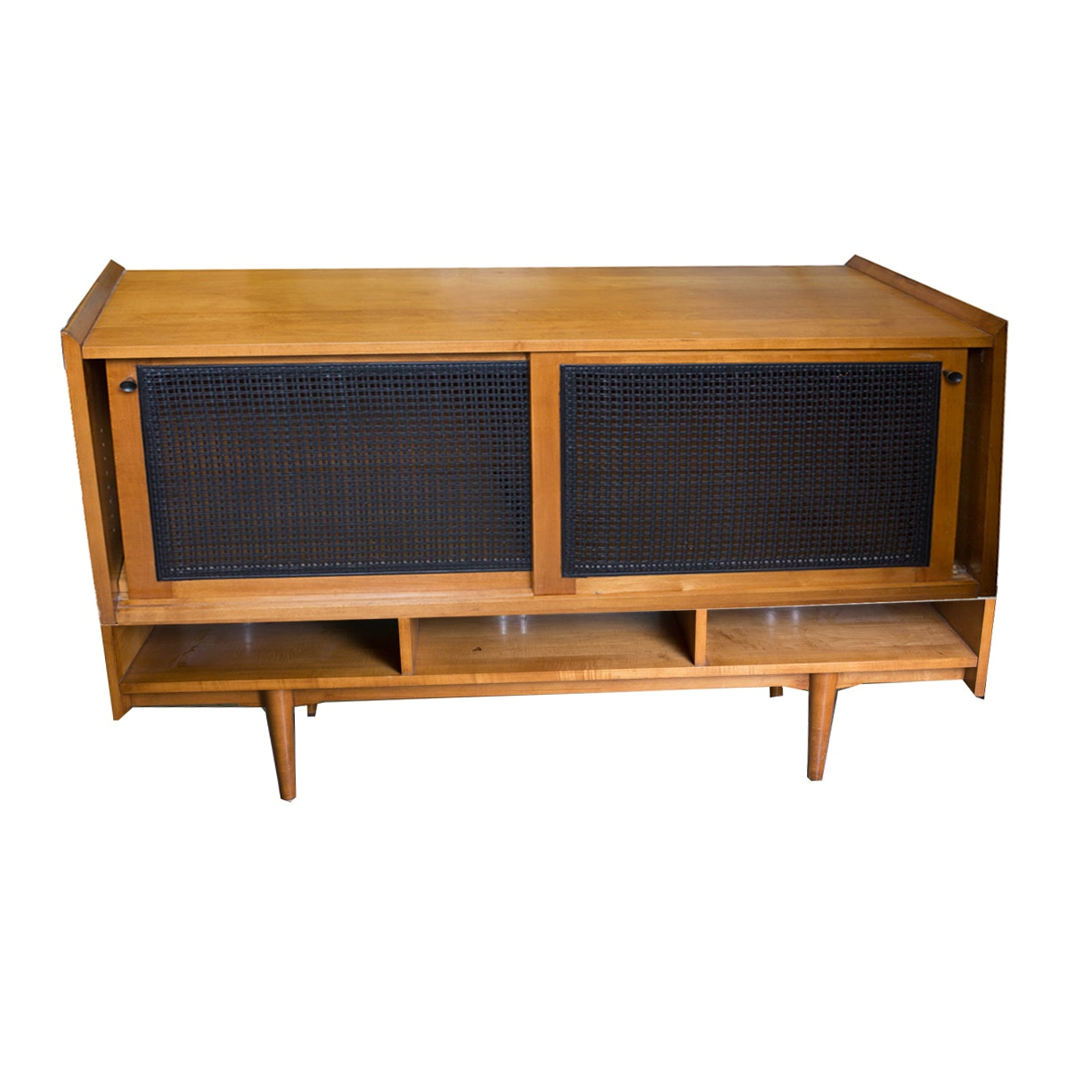 Mid-Century Modern Low Entertainment Stand