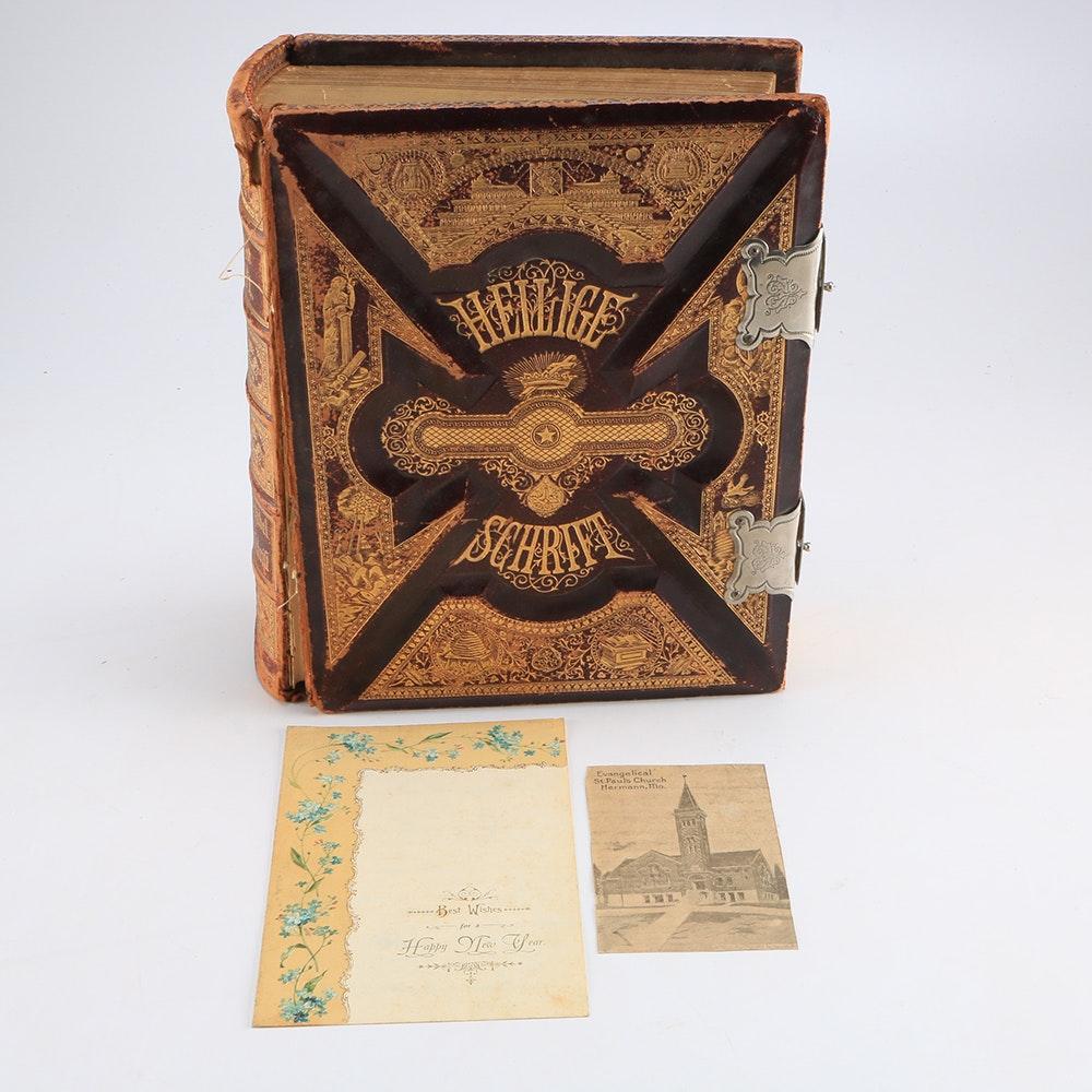 Vintage German Bible