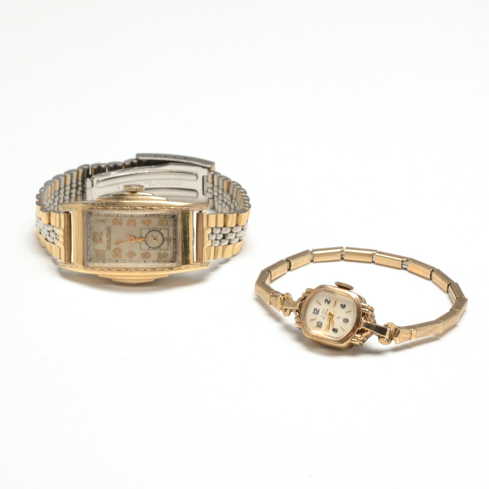 Pairing of Vintage Gold Filled Wristwatches