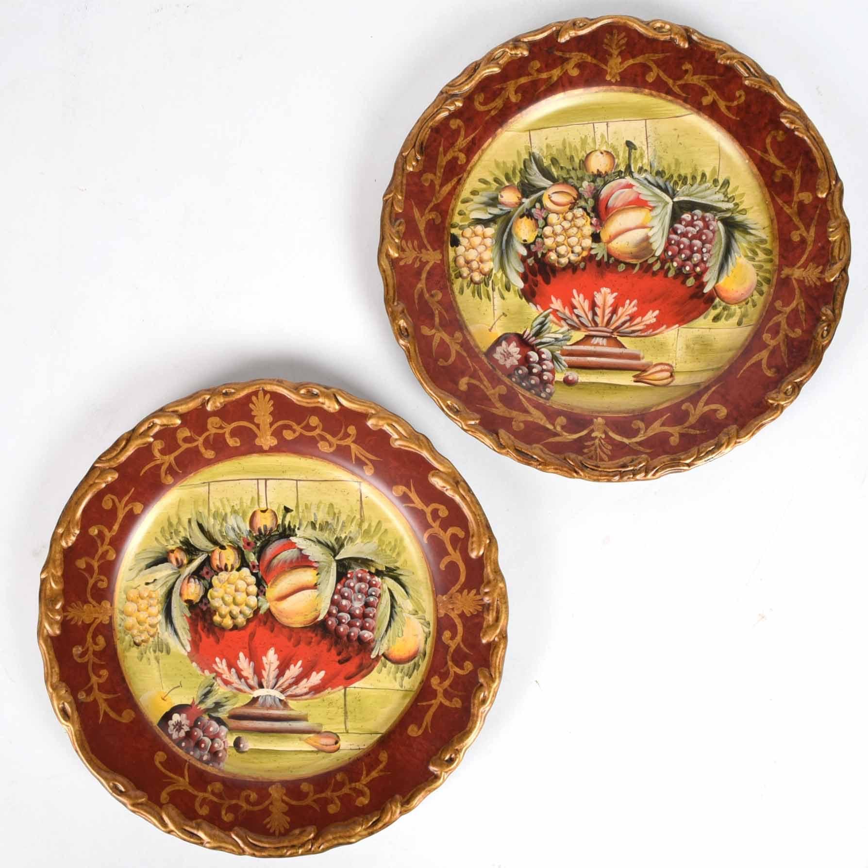 Pair of Raymond Waites for Toyo Decorative Plates ... & Pair of Raymond Waites for Toyo Decorative Plates : EBTH
