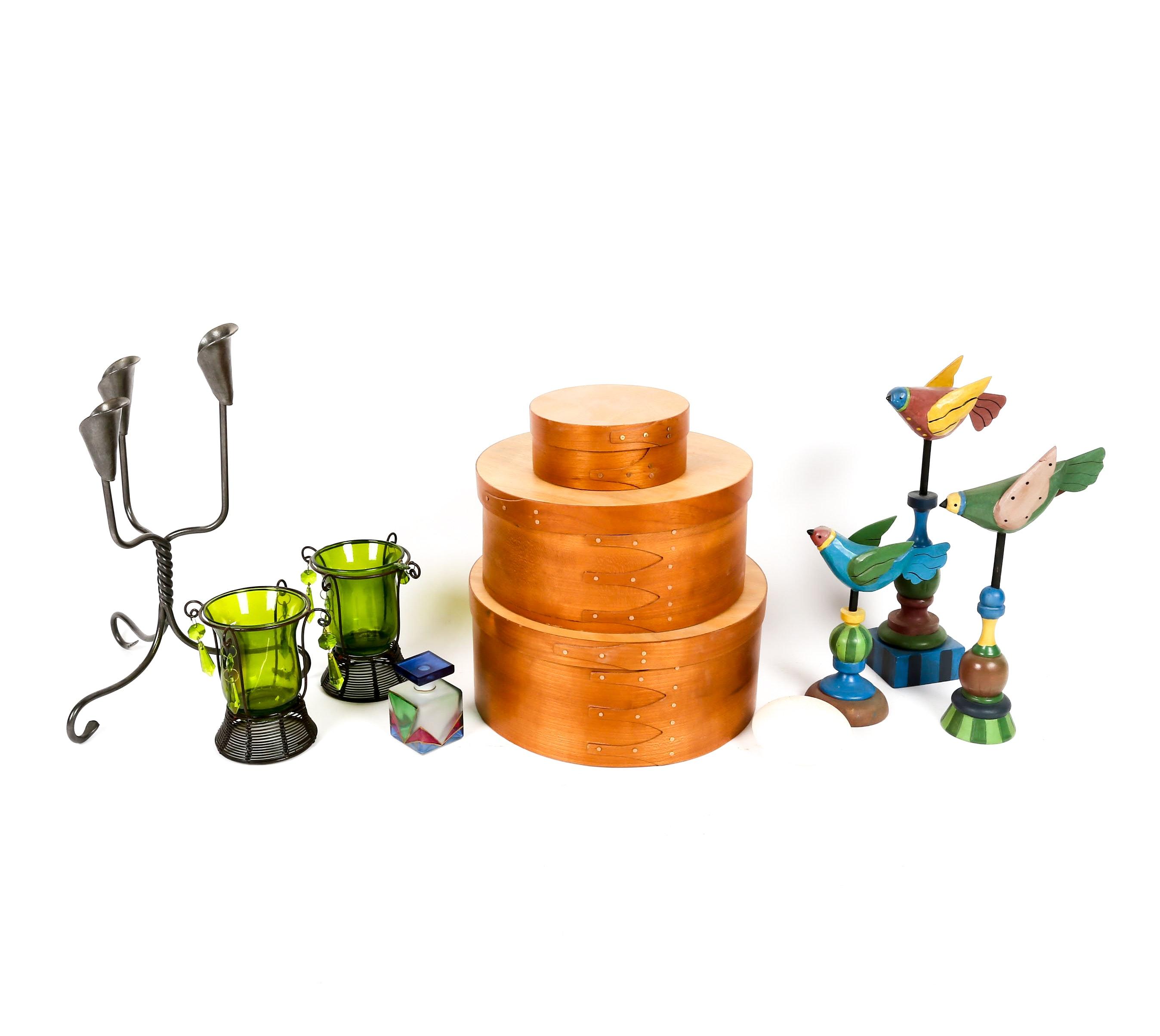 Assortment of Home Decor Items