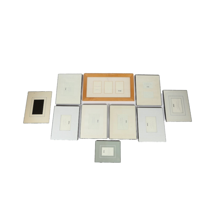 Collection Of Pier 1 Imports Picture Frames Ebth
