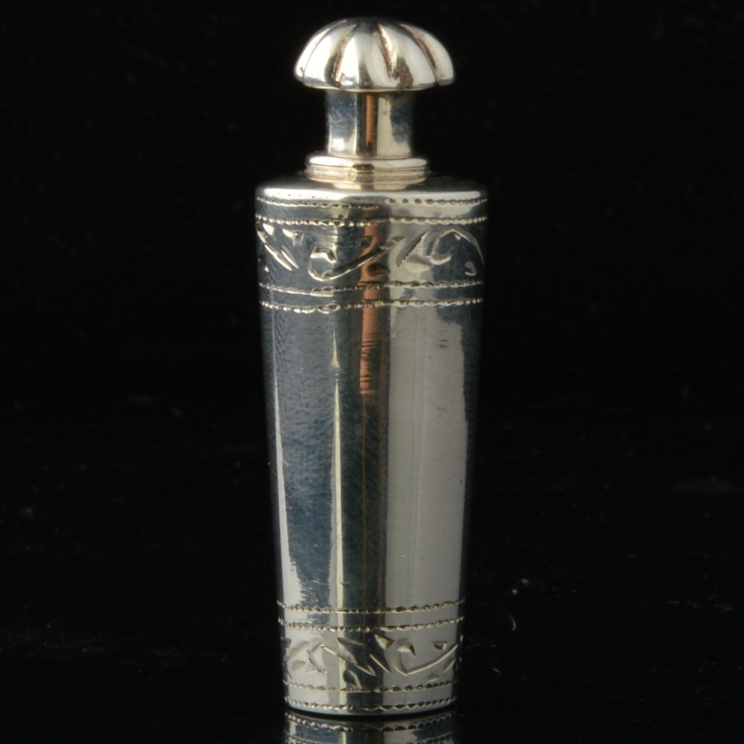 Sterling Perfume Bottle