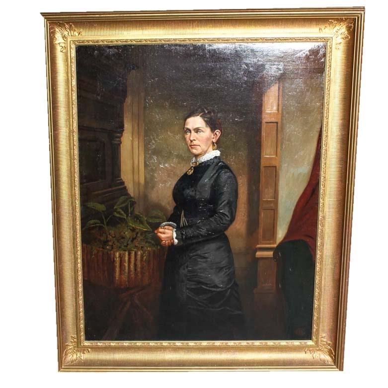 Ancestral Portrait Oil Painting