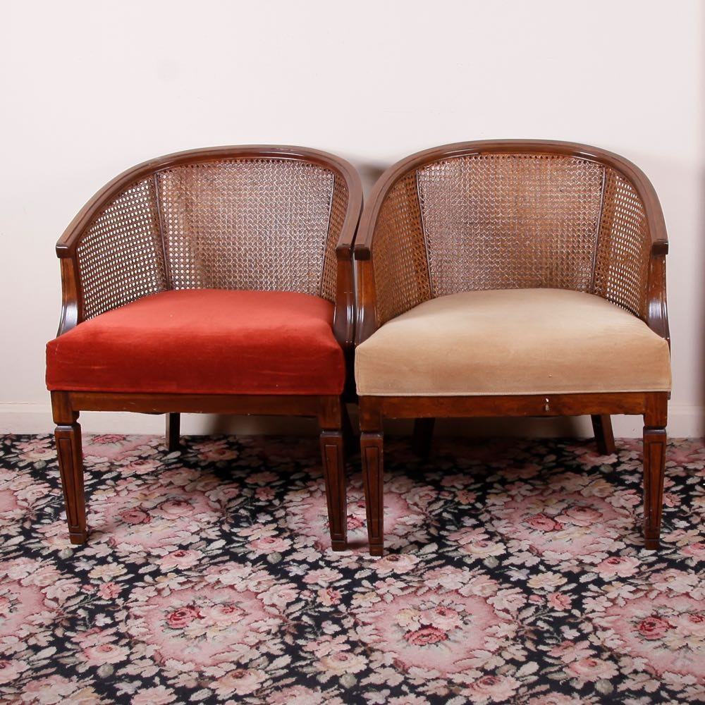 Vintage Cane Chairs ...