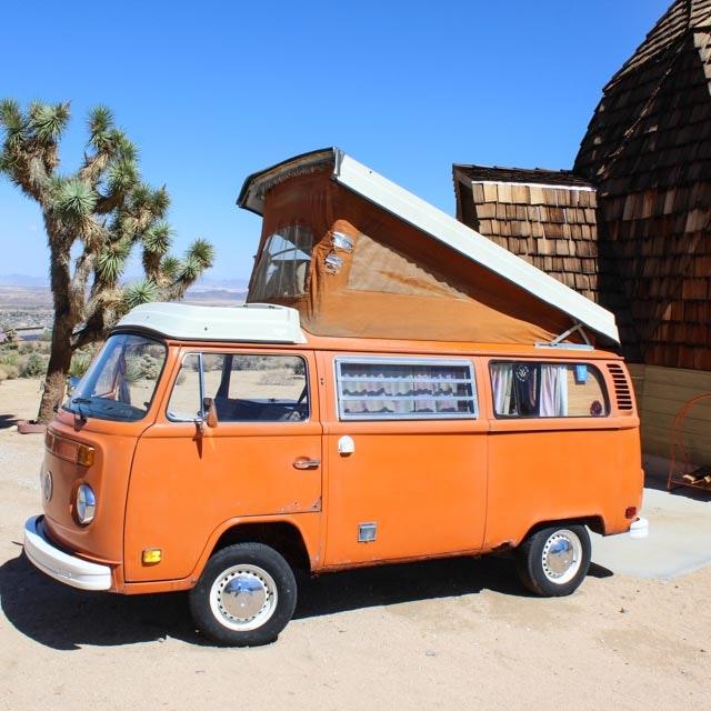 Vintage 1974 Volkswagen Pop-Up Transporter Bus