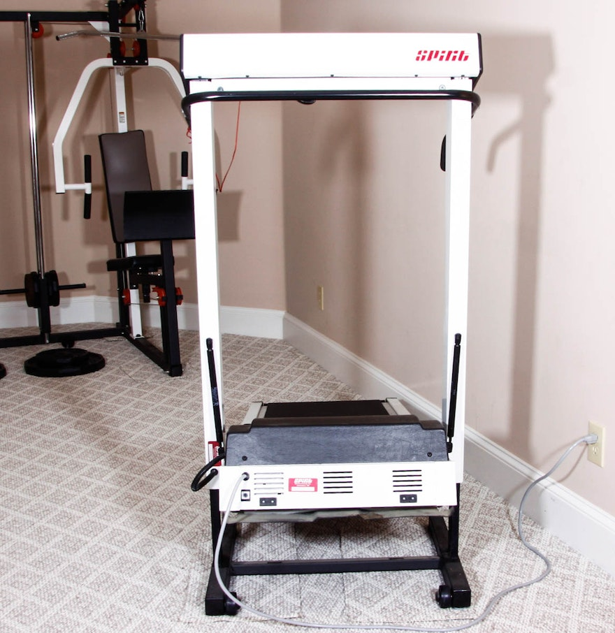spirit cushion flex treadmill manual