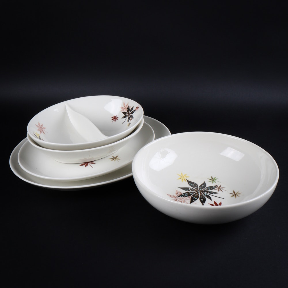1950s Dishes: Vintage 1950s Dishes By Peter Terris For Shenango China : EBTH