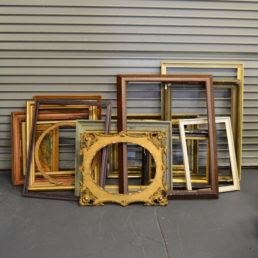 c90636c3b0e7 Assortment of Vintage Frames   EBTH