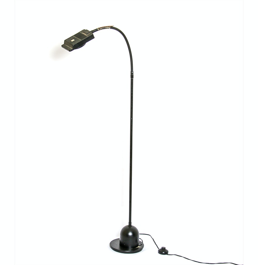 electrix halogen floor lamp ebth. Black Bedroom Furniture Sets. Home Design Ideas
