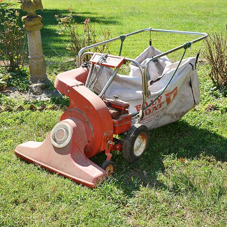 Vintage Yard-Man Vacuum Sweeper