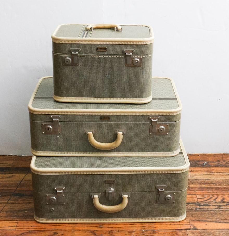 Vintage Oshkosh Luggage Set : EBTH