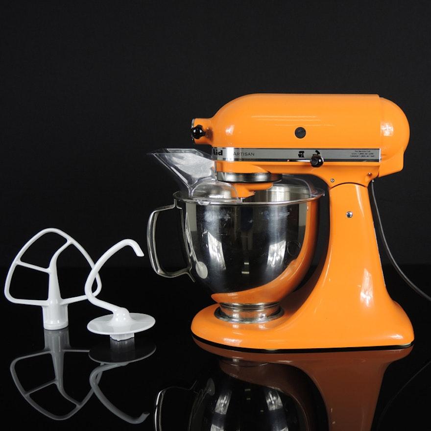 Orange Kitchenaid Artisan Stand Mixer Ebth