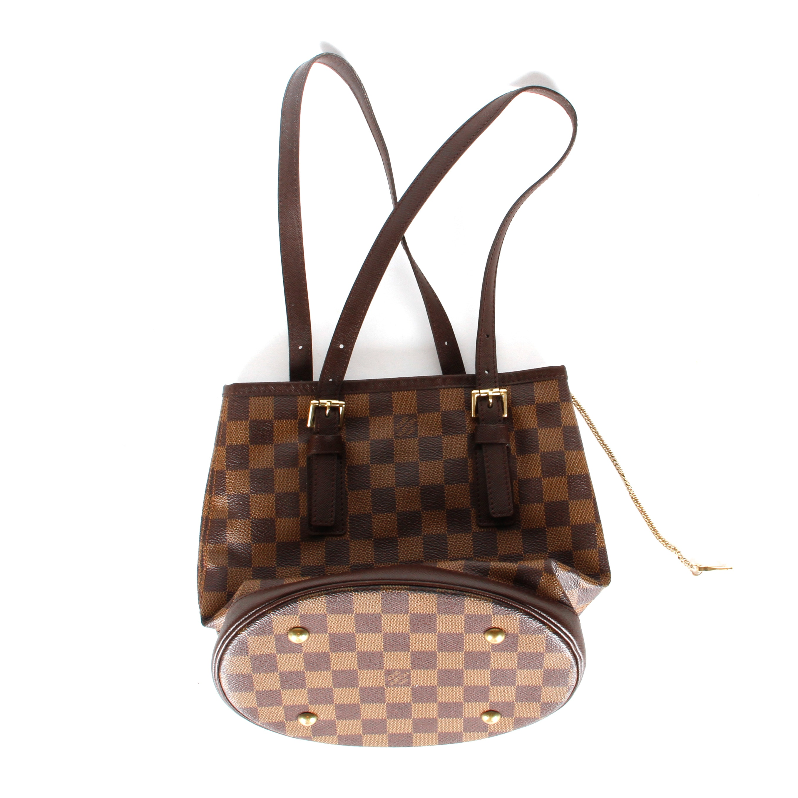 Louis Vuitton Louis Vuitton Damier Ebene Canvas Bucket Bag