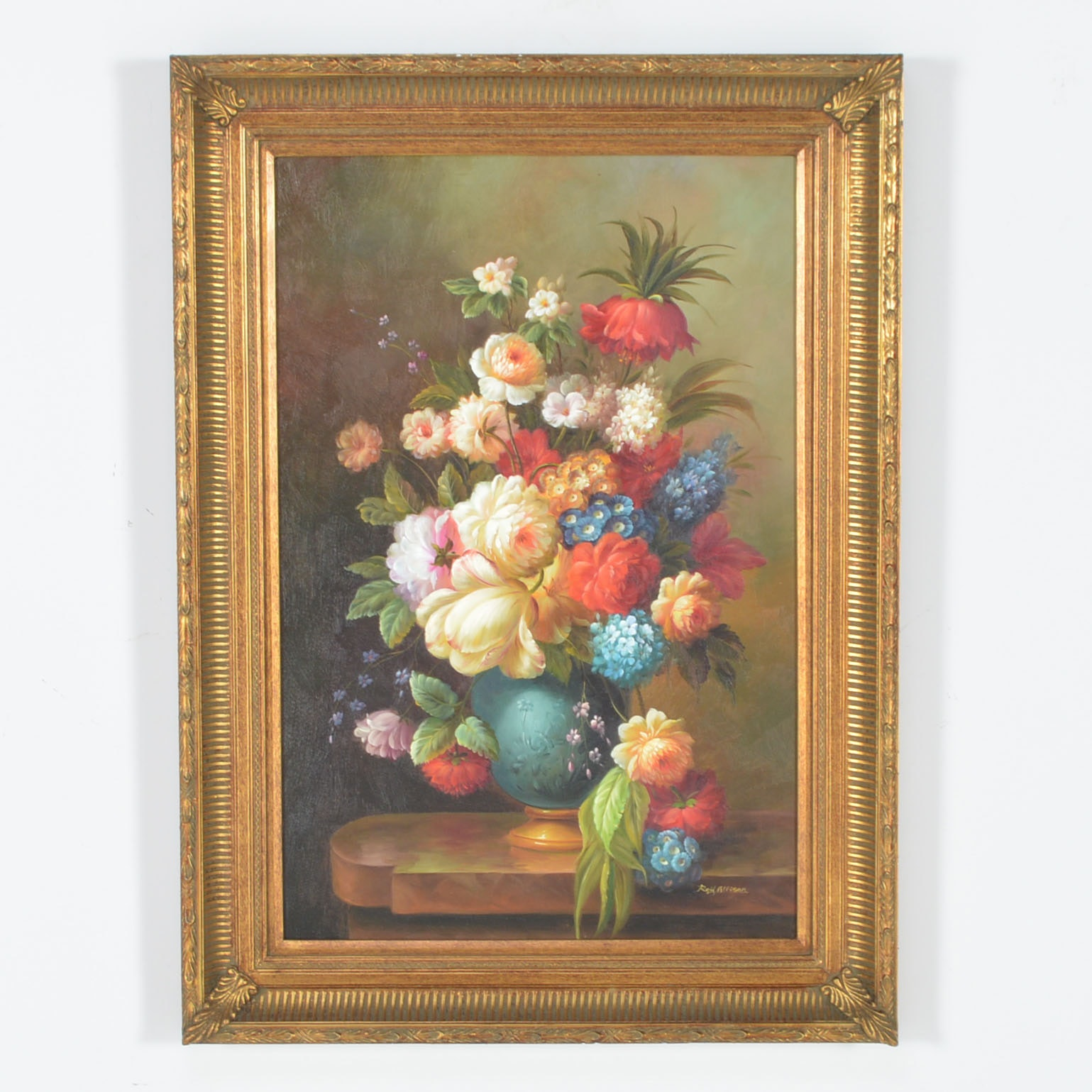 Framed Giclee of Floral Still Life