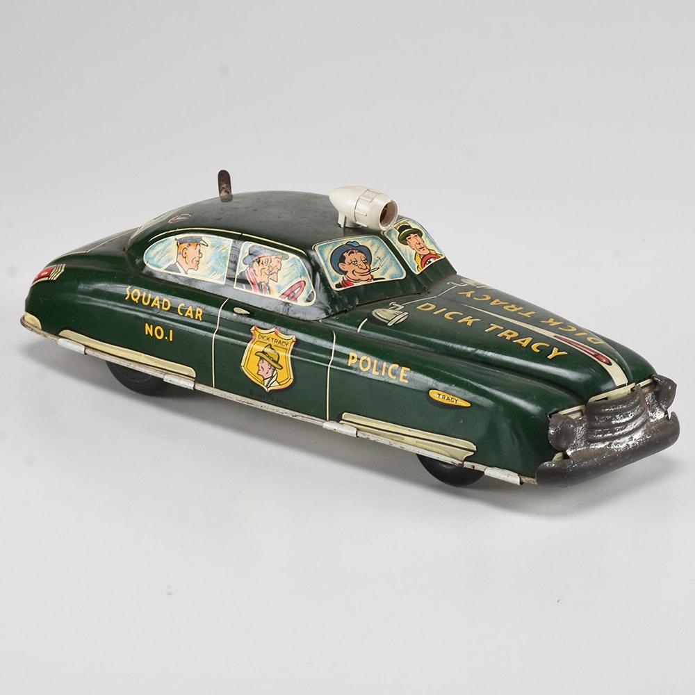 Dick tracy car tin