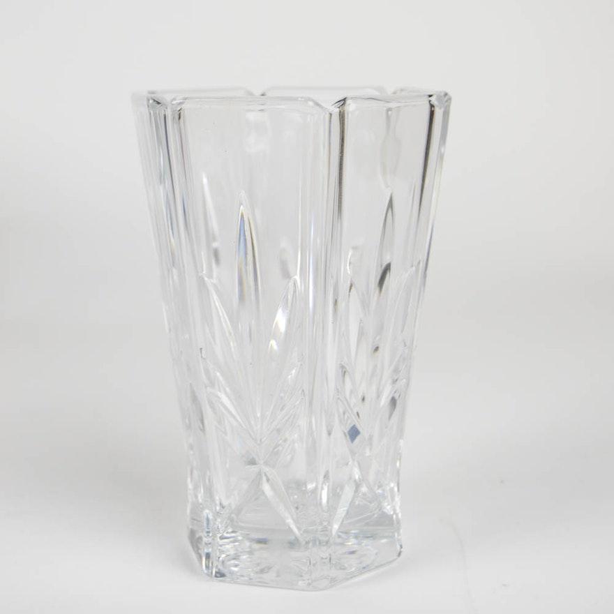 Wedgwood Crystal Vase Ebth