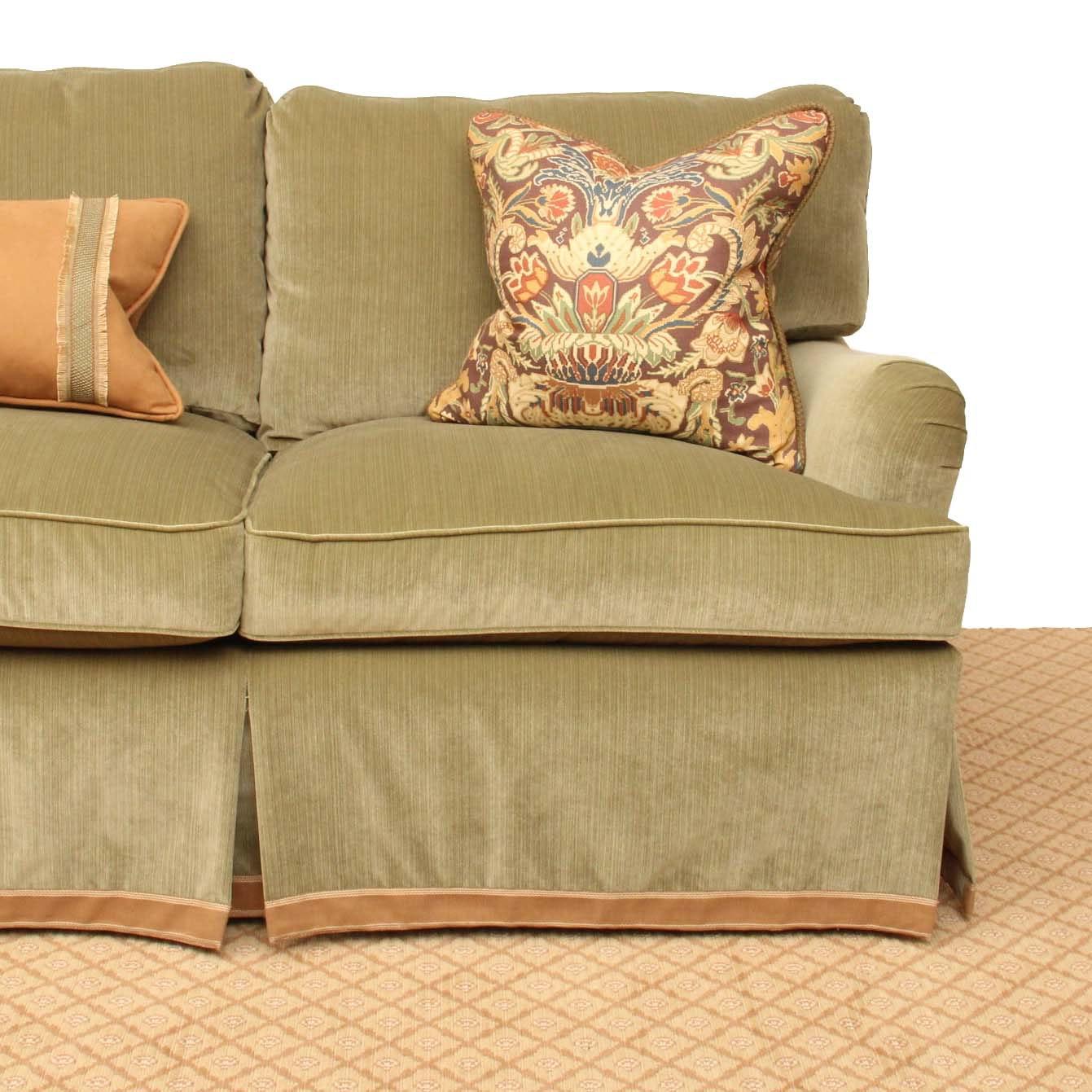 Custom Upholstered Down Filled Sofa