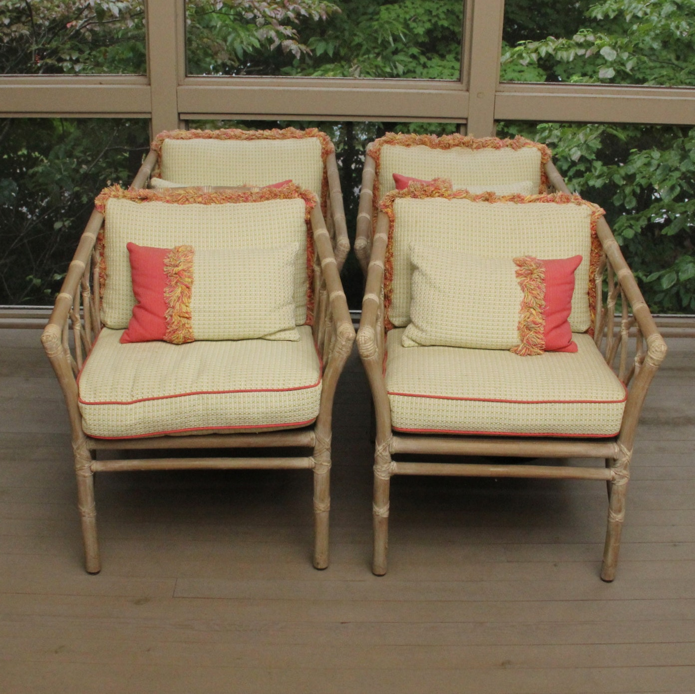 McGuire Of San Francisco Bamboo Chairs ...