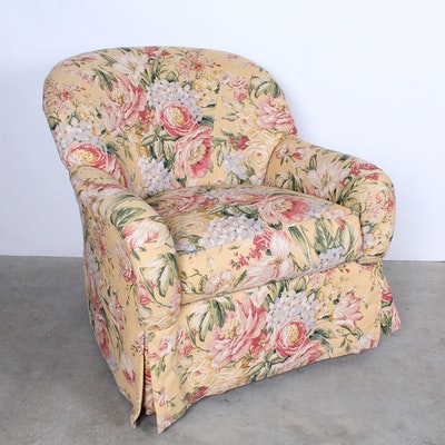 Jardine Swivel Upholstered Rocking Chair With Gliding