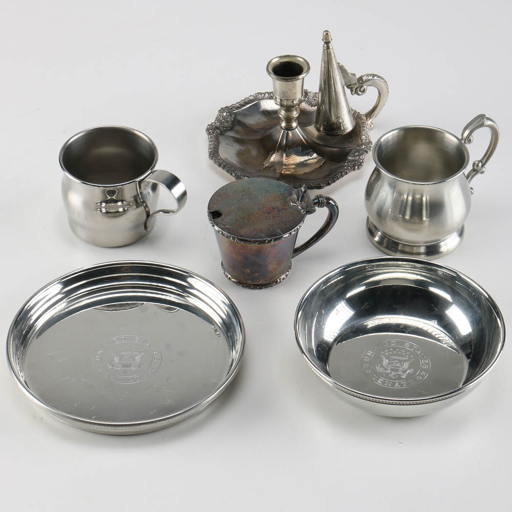 Silver Plate and Pewter Tableware ... & Silver Plate and Pewter Tableware : EBTH