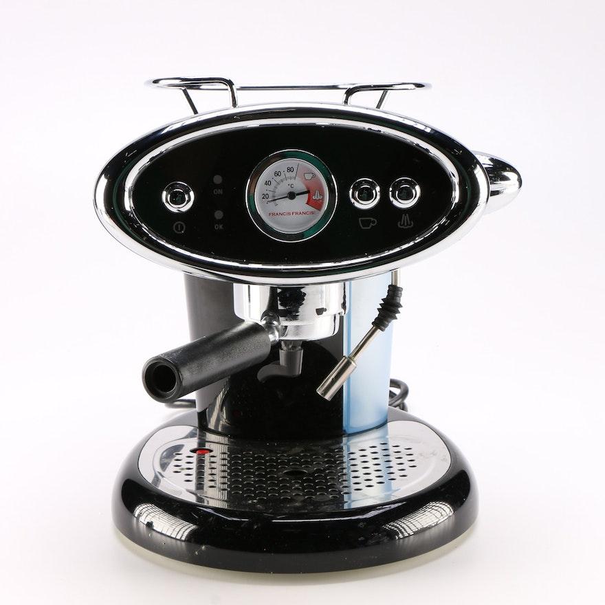 Illy Francis Francis! X6 Espresso Maker : EBTH