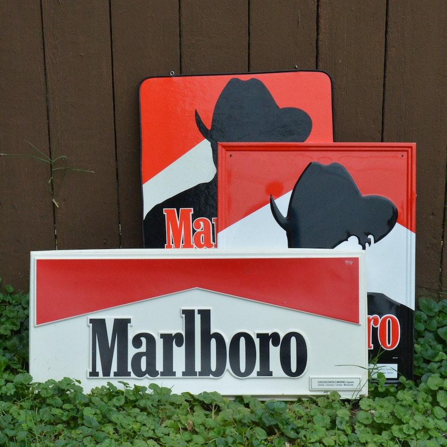 Vintage Marlboro Signs