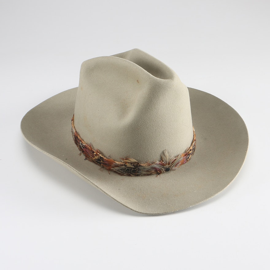 38f361d895d Trail Ridge Wool Hat with Feather Band   EBTH