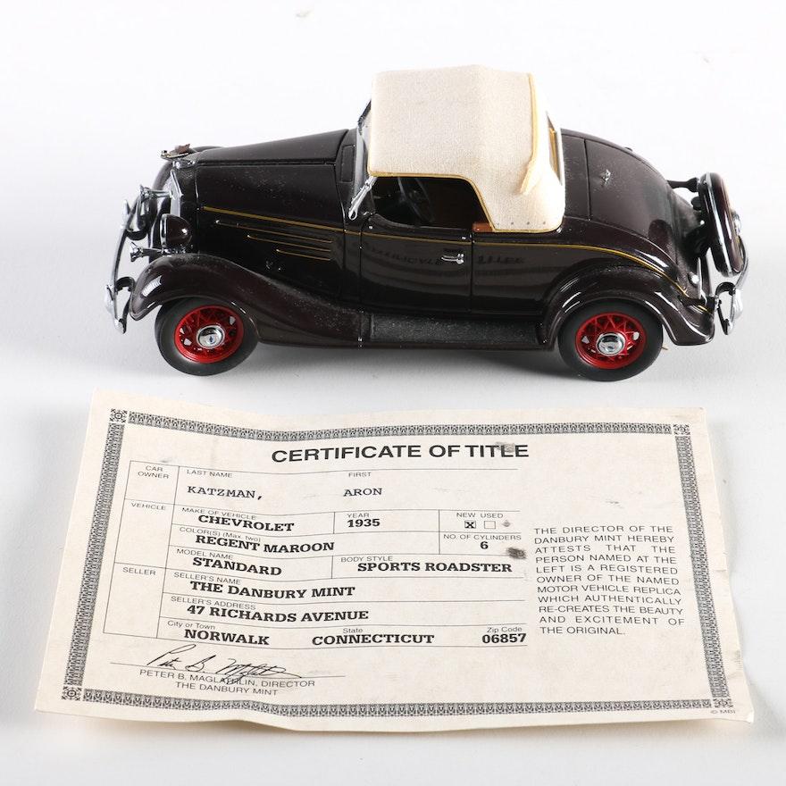 Danbury Mint 1935 Chevrolet Sports Roadster