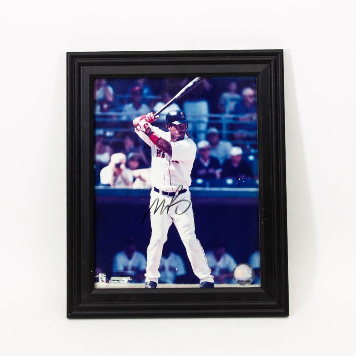 Manny Ramirez Red Sox Autographed Photo