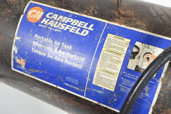 Vintage Campbell Hausfeld Air Compressor : Vintage campbell hausfeld portable air tank ebth