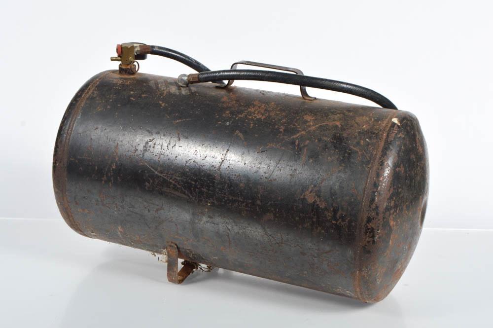 Campbell Hausfeld Air Tank : Vintage campbell hausfeld portable air tank ebth