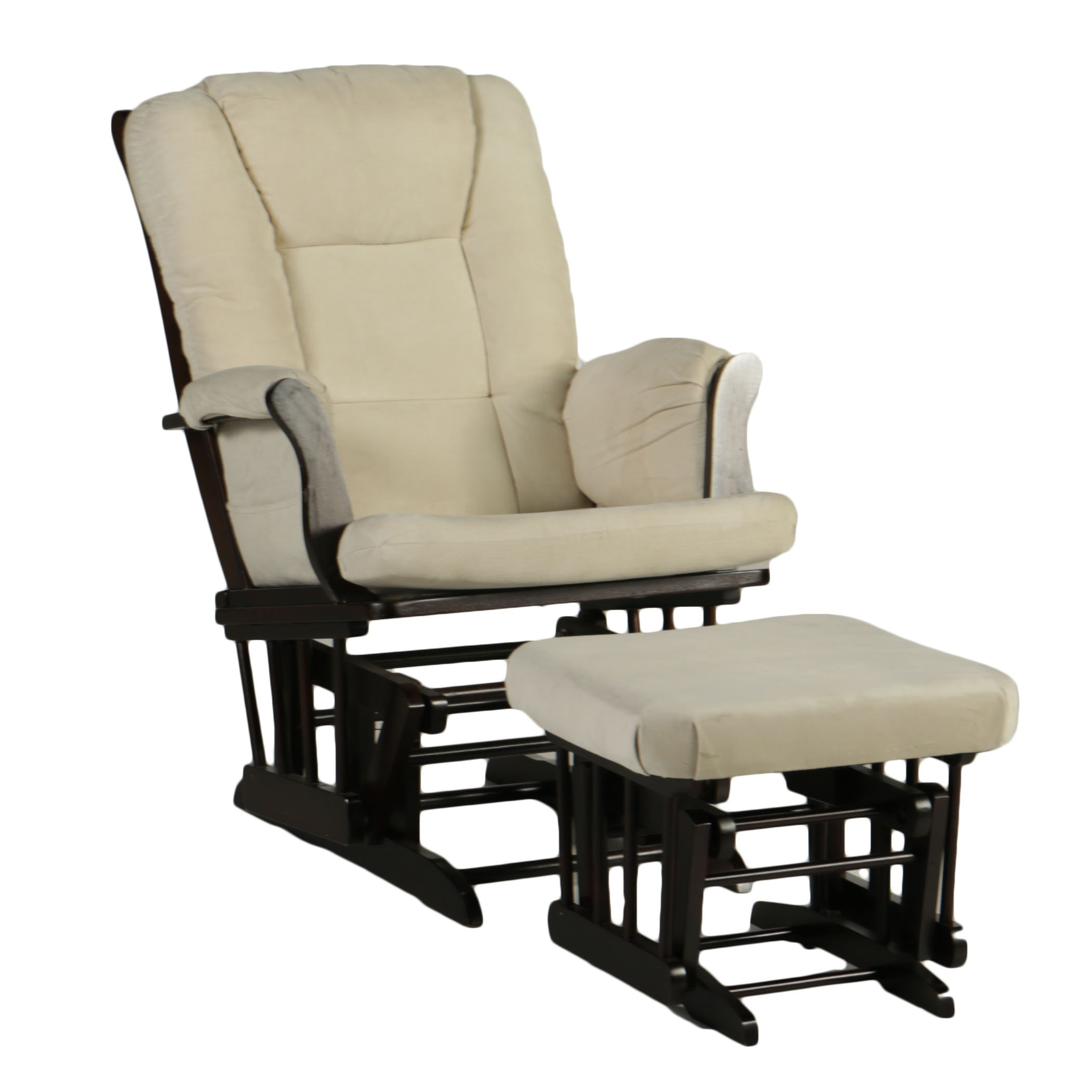 Shermag Glider with Ottoman