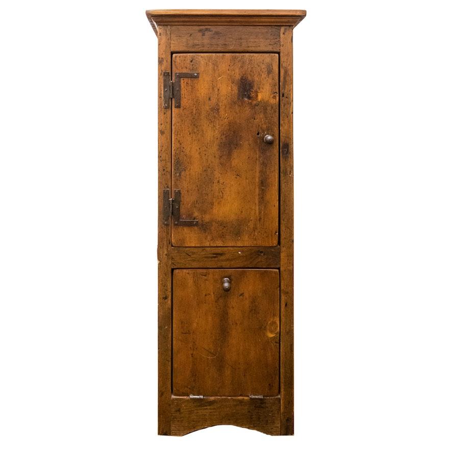 Antique Pine Cabinet ... - Antique Pine Cabinet : EBTH