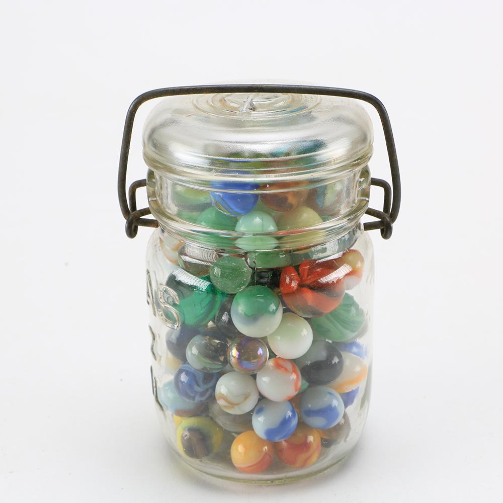 Atlas Jar Of Marbles