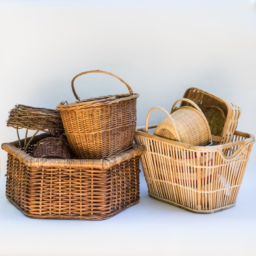 Generous Selection of Baskets