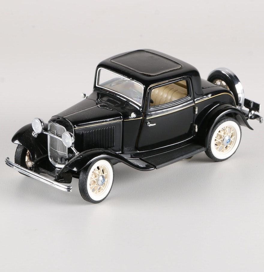 Franklin Mint 1932 Ford Deuce Coupe : EBTH