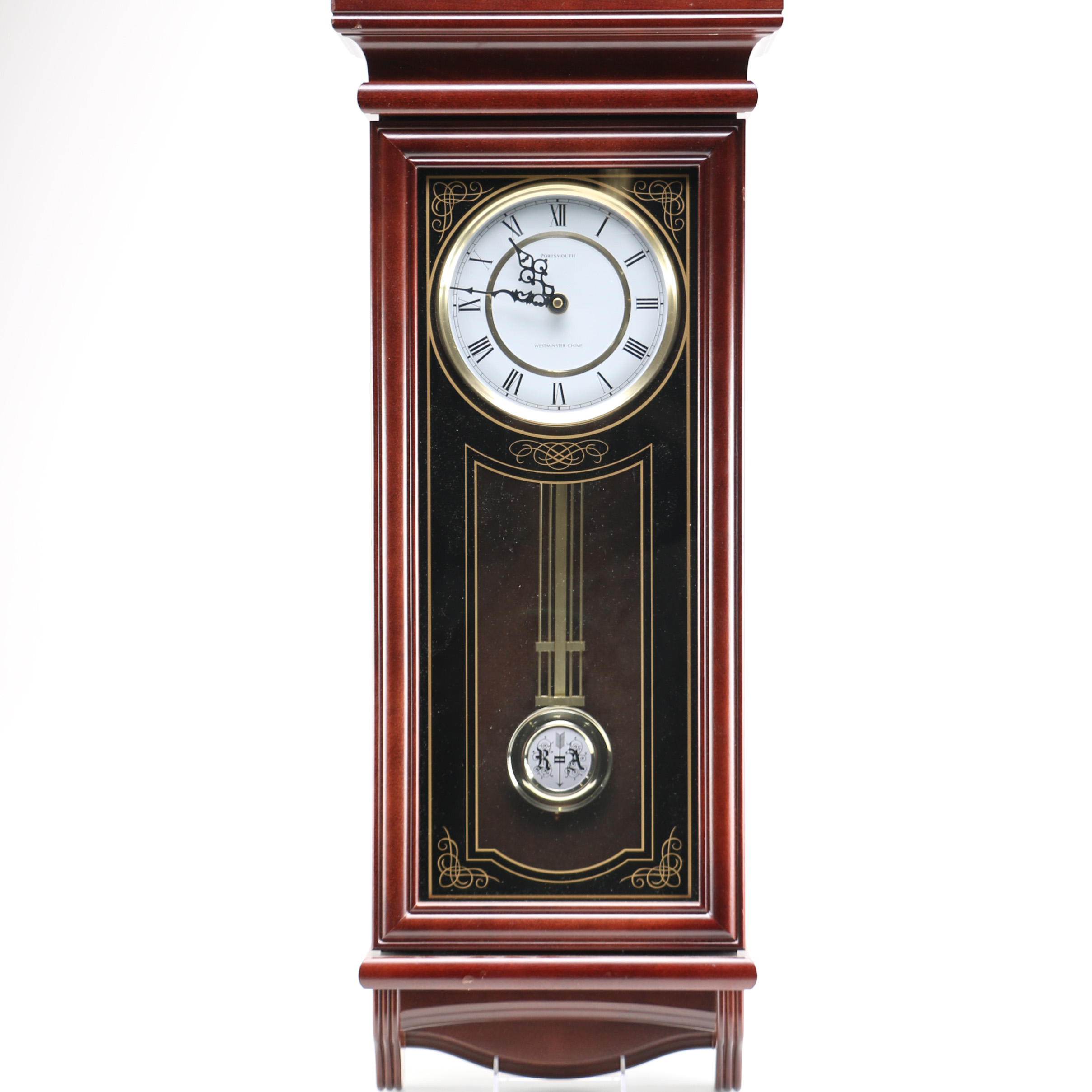 Portsmouth Westminster Chime Wall Clock EBTH