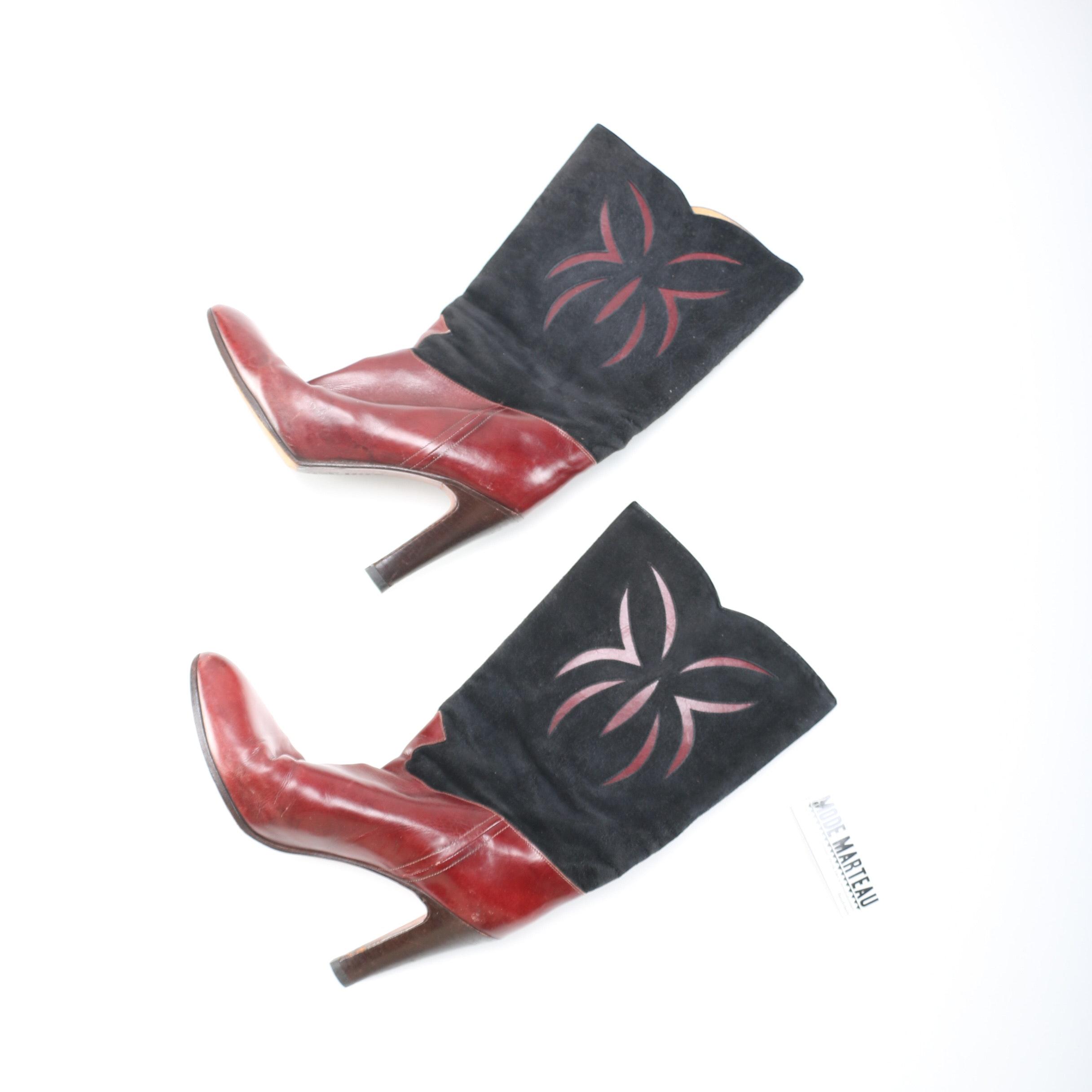 Women's Vintage Botticelli High Heeled Boots