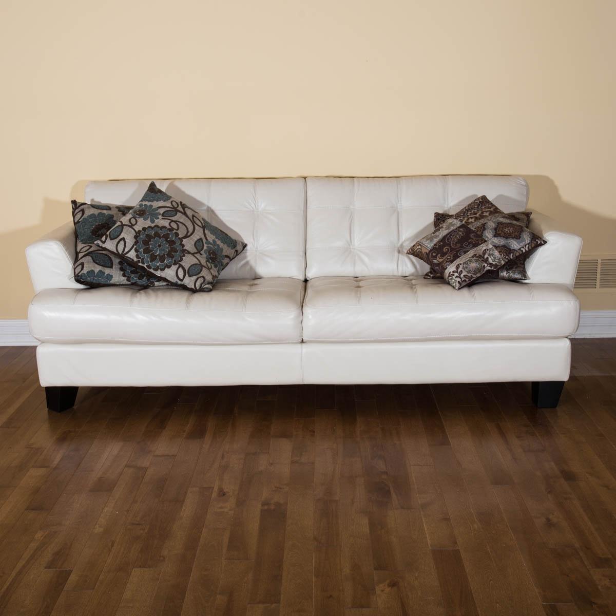 Cindy Crawford Home Leather Sofa ...