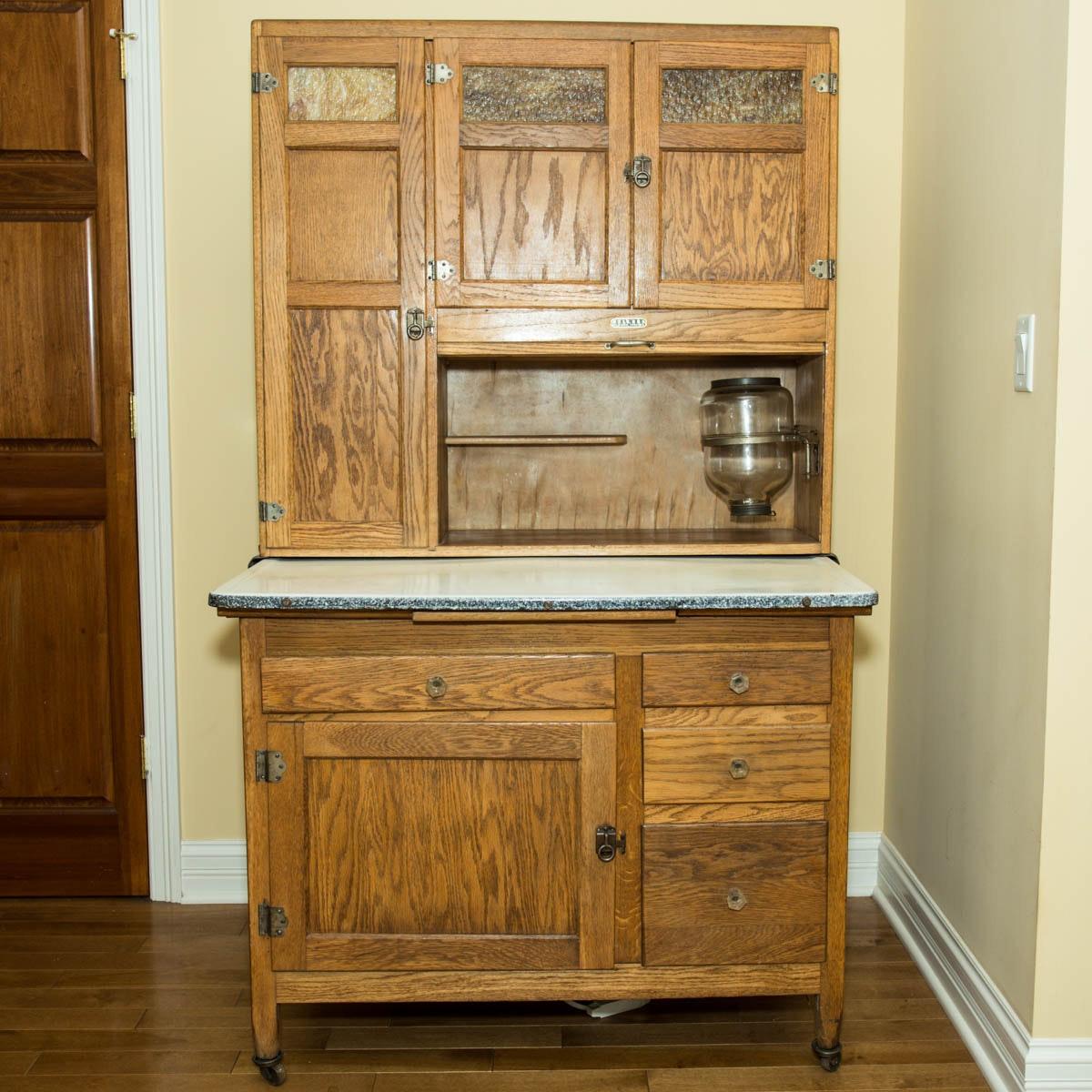 Sellers Kitchen Cabinet: 1920's Hoosier Style Seller's Kitchen Cabinet : EBTH