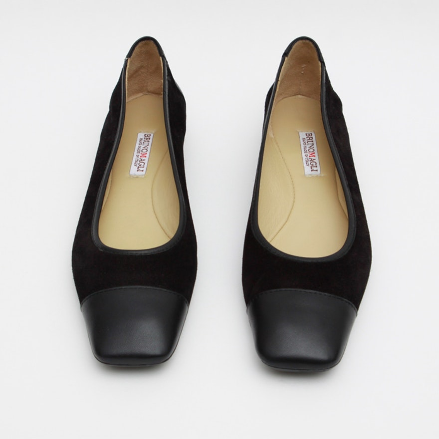 a2a015b9bab Women s Bruno Magli Square Toe Flat Shoes   EBTH
