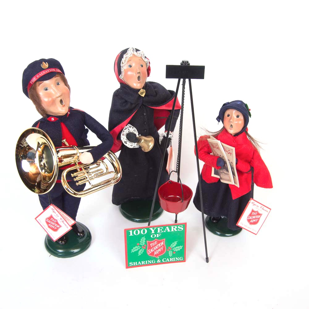 62 Best Decorating With Byers Choice Carolers Images On: Byers' Choice Salvation Army Carolers : EBTH