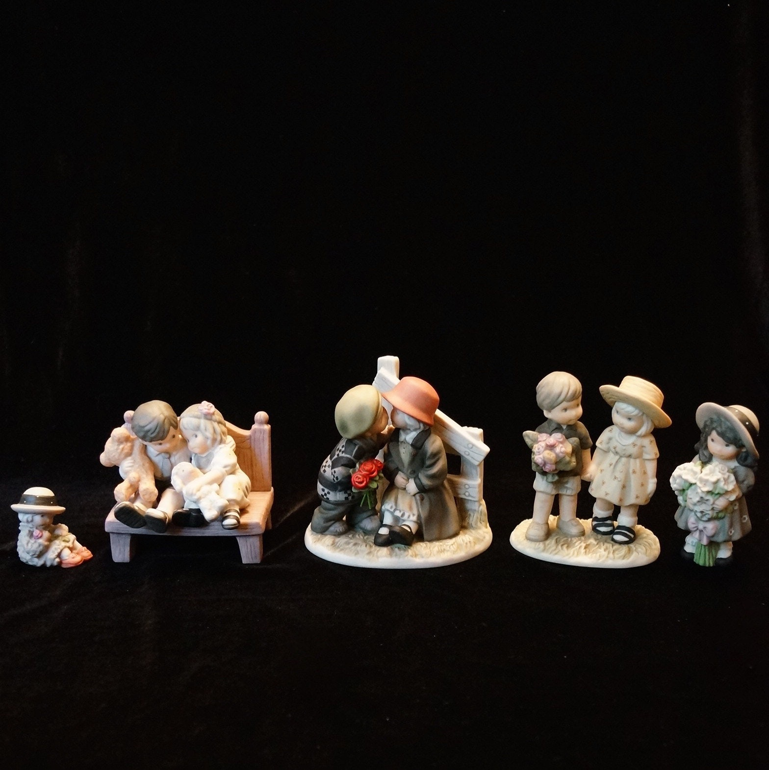 Collection Of Kim Andersons Pretty As A Picture Figurines Ebth