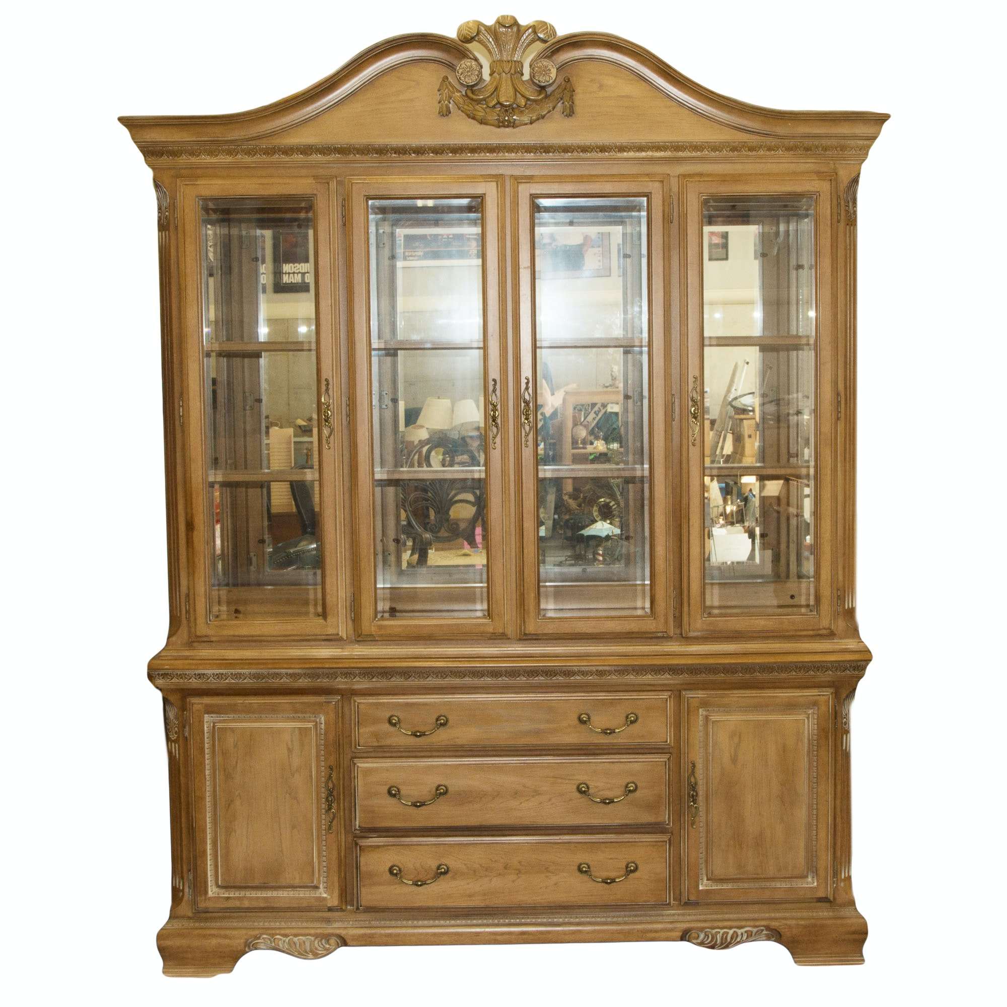 Delightful Lexington Furniture Camden Hall Collection China Cabinet ...