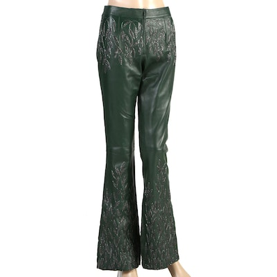 Tom Ford for Gucci Women's Leather Pants