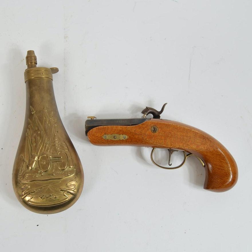 Black Powder Derringer Philadelphia Reproduction Pistol